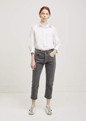 6397 Shorty Jeans OD Grey