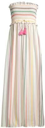Pilyq Stephanie Multistripe Maxi Dress