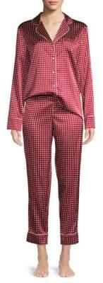 Stella McCartney Poppy Snoozing Polka Dot Two-Piece Pajama Set
