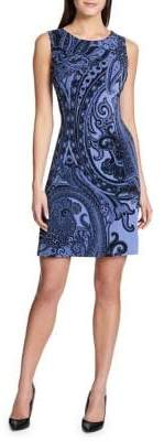 Tommy Hilfiger Dragon Paisley Jersey Sleeveless Dress