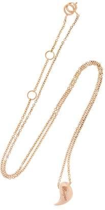Bea Yuk Mui Bongiasca Heliconia Unique Rose Gold Necklace
