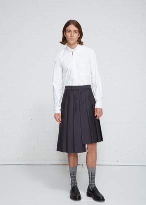 Thom Browne Pleated Mohair Skirt