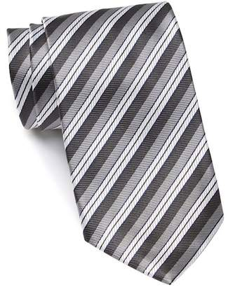 Ermenegildo Zegna Silk Triple Stripe Tie