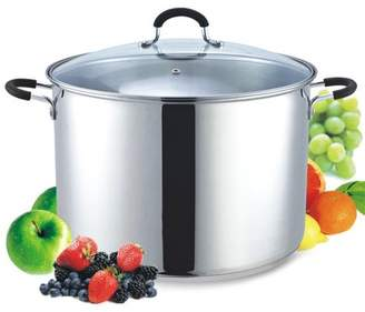 N. Cook Home 20 Quart Stainless Steel Stockpot and Canning Pot with Lid