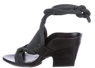 3.1 Phillip Lim Suede Cutout Sandals