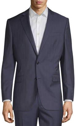 Brooks Brothers Striped Wool Suit Jacket