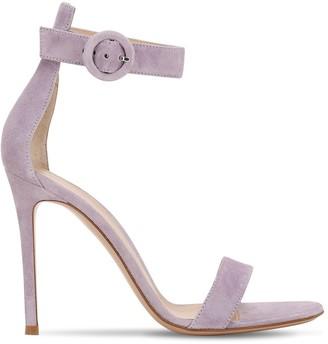 Gianvito Rossi 105mm Portofino Leather Sandals