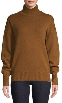 Theory Turtleneck Cashmere Drop Shoulder Sweater