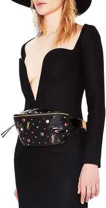 Saint Laurent Crystal Embellished Fanny Pack