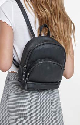 La Hearts Mini Faux Leather Backpack