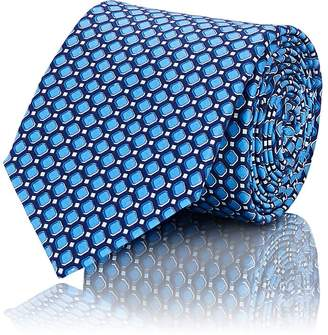 Lanvin Men's Neat-Pattern Silk Necktie