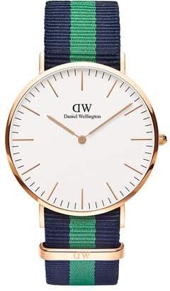 Daniel Wellington Men's 0105DW Classic Warwick Analog Display Quartz Two Tone Watch