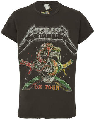 Madeworn Metallica 'on tour' t-shirt