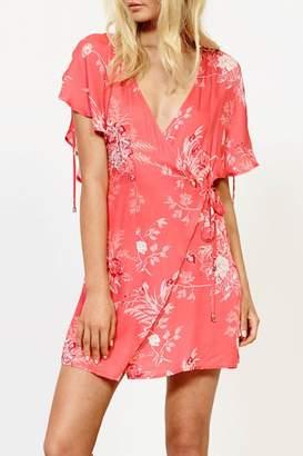MinkPink Tropic Wrap Dress