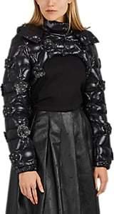 Noir Kei Ninomiya 6 MONCLER Women's Reinite Crop Puffer Jacket - Black