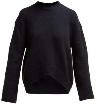 Brock Collection Oste Cashmere Sweater - Womens - Navy
