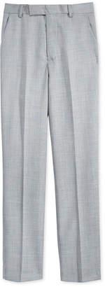 Calvin Klein Sharkskin Deco Suiting Pants, Big Boys Husky