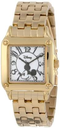 Disney Women's W000477 Mickey Mouse Perfect Square Bracelet Watch