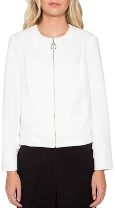 Women's Willow & Clay Knit Bomber Jacket $89 thestylecure.com