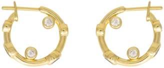 Wanderlust + Co Skylar Gold Huggies Earrings