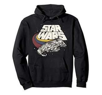 Star Wars Falcon Ship Three Stripes Graphic Hoodie