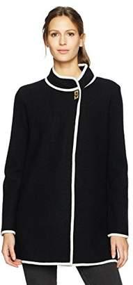 Calvin Klein Women's Long Boiled Wool Jacket