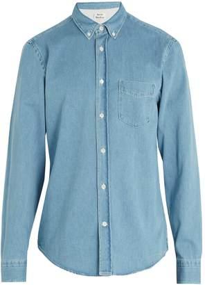 Acne Studios Isherwood Den cotton-denim shirt
