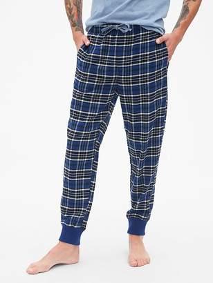 Gap Flannel Pajama Joggers