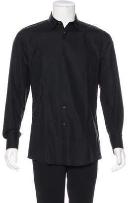 Dolce & Gabbana Patterned Woven Shirt w/ Tags