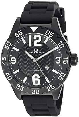 Oceanaut Men's 'Aqua One' Quartz Stainless Steel and Silicone Watch