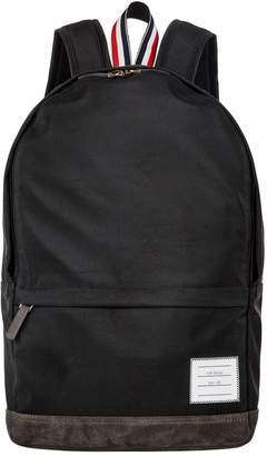 Thom Browne Unstructured Logo Backpack