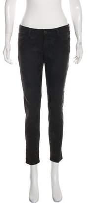 Etienne Marcel Mid-Rise Skinny Jeans Black Mid-Rise Skinny Jeans