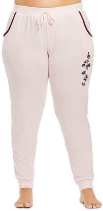 Gloria Vanderbilt Womens-Plus Knit Pajama Pants