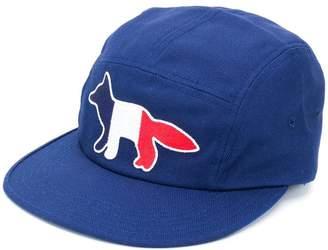 MAISON KITSUNÉ fox patch baseball cap