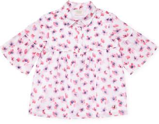 Armani Junior Floral Print Top
