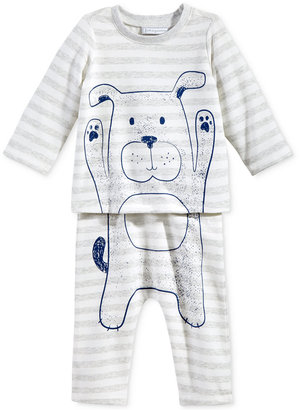 First Impressions 2-Pc. Dog T-Shirt & Pants Set, Baby Boys (0-24 months), Only at Macy's $24.50 thestylecure.com