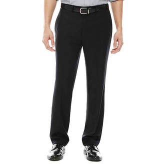 Claiborne Classic Fit Flat Front Pants