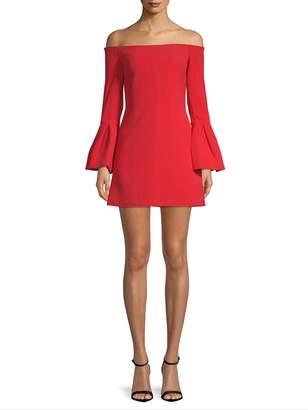 Alexis Women's Off-The-Shoulder Bell Sleeve Dress