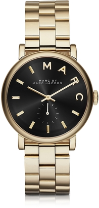 Marc by Marc Jacobs Baker Golden Stainless Steel Classic Women's Watch $248 thestylecure.com