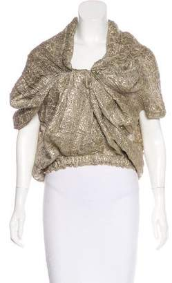 Lanvin Metallic Linen Jacket w/ Tags
