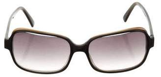 Morgenthal Frederics Tinted Square Sunglasses