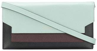 Marni three-colour gusset wallet