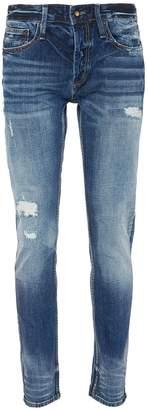 Denham Jeans 'Razor' ripped slim fit jeans