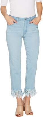 Women With Control Women with Control Tall My Wonder Denim Fringe Jeans