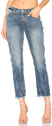Hudson Jeans Rival Seamed Straight Jean $235 thestylecure.com