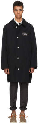 Visvim Black Grease Monkey Cloud Coat