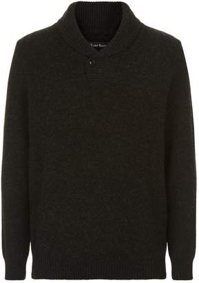 Barbour Shawl Neck Knitted Sweater