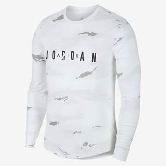 Jordan Sportswear Tech Men's Graphic Long-Sleeve T-Shirt