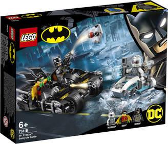 Lego Super Heroes: Mr. Freeze Batcycle Battle (76118)