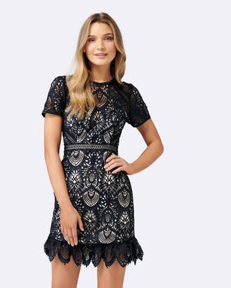 Forever New Austin Fit and Flare Lace Dress